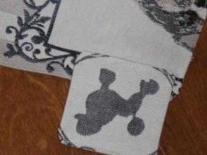 detail van de zijflap